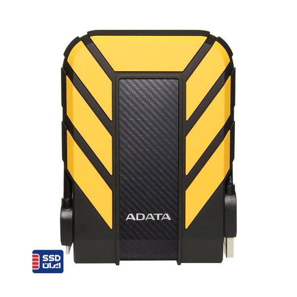 هارد اکسترنال ای دیتا HD710 pro زرد