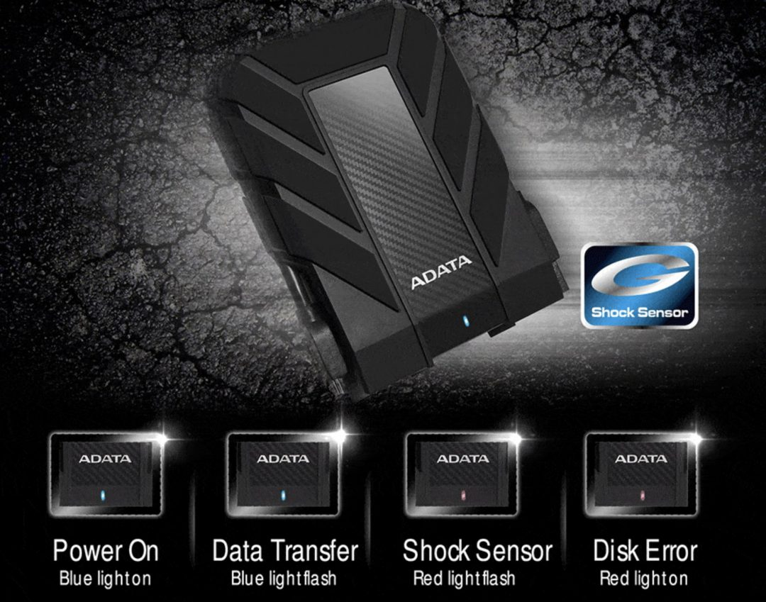کابل usb 3 هارد اکسترنال ای دیتا HD710 Pro