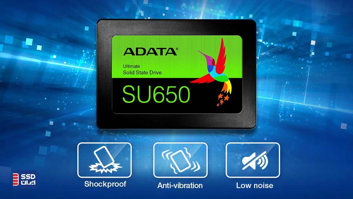 اس اس دی ای دیتا SU650 Anti shock 120gb