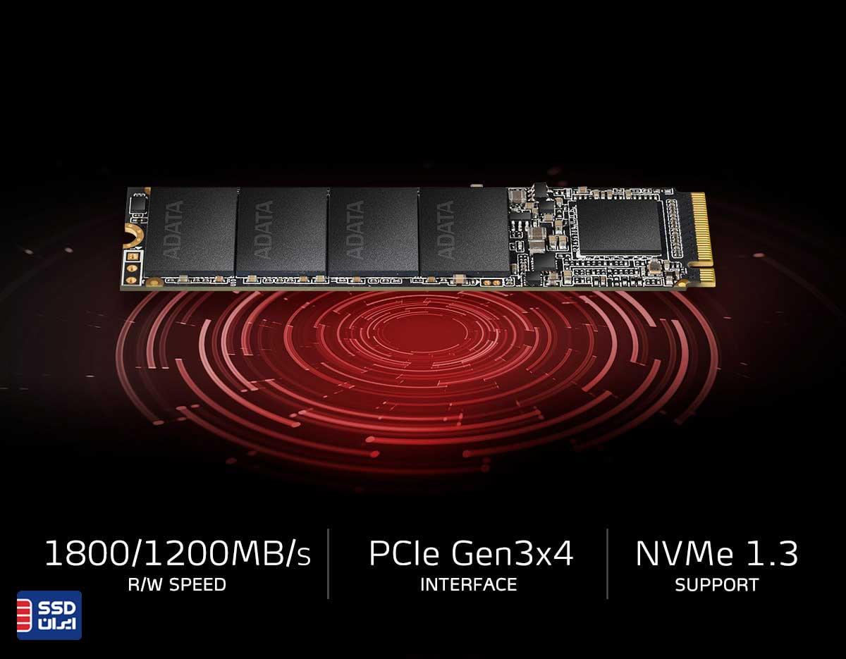 توضیح اس اس دی ای دیتا ADATA XPG SX6000 Lite NVMe